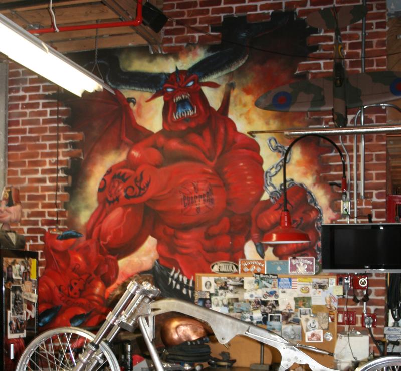 Painted Walls Motogeo