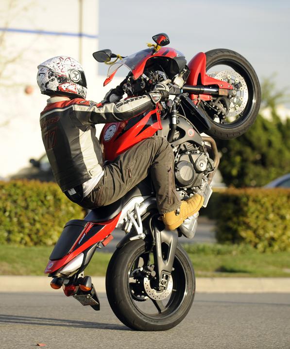 The 12 O'Clock Wheelie / Motorcycle + Adventure = MotoGeo