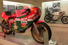 A pair of Ducati's - Now that's history right there!