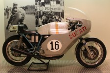 Paul Smart's beautiful silver Ducati