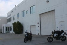 Alpinestars HQ LA where I meet up with Gabriele for our morning Canyon ride