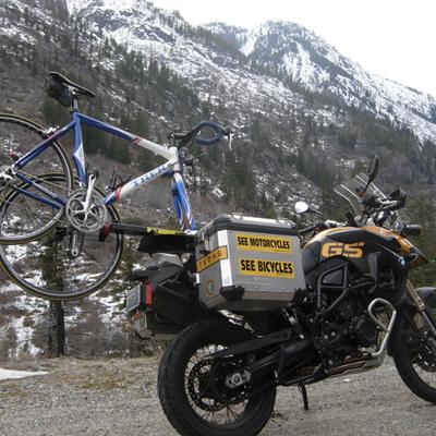 Motorcycle Bicycle Rack