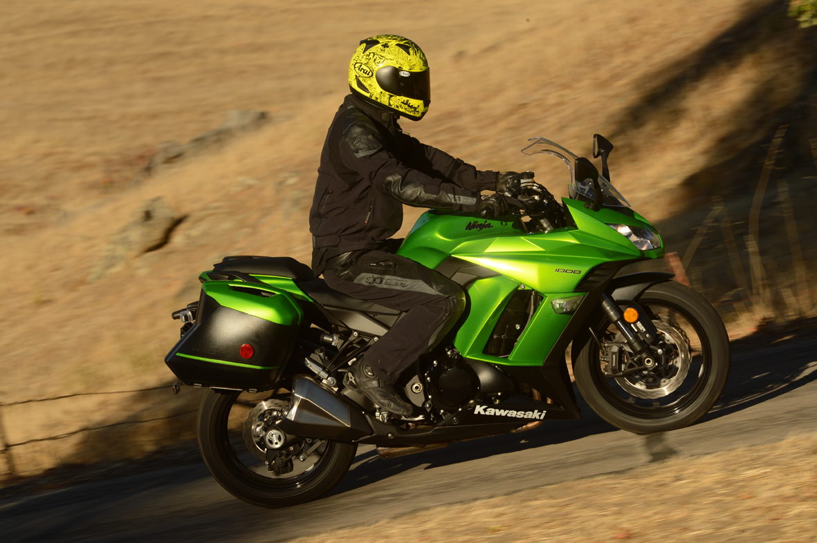 Kawasaki Ninja 1000 First Ride Review Video Motogeo