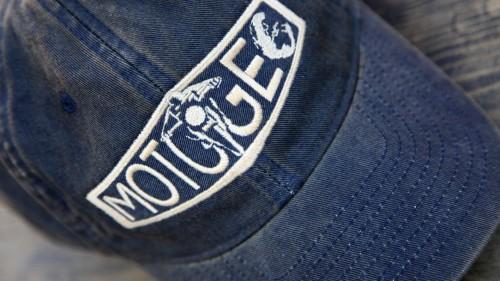 Navy MotoGeo Baseball Cap.