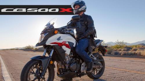 Honda CB500X Review