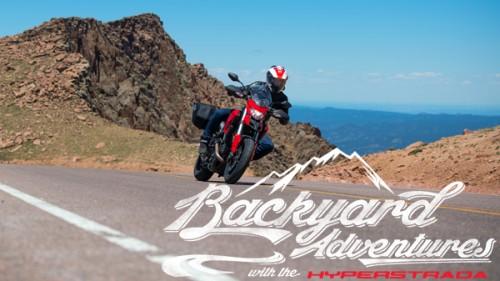 Backyard Adventures - Ducati Hyperstrada