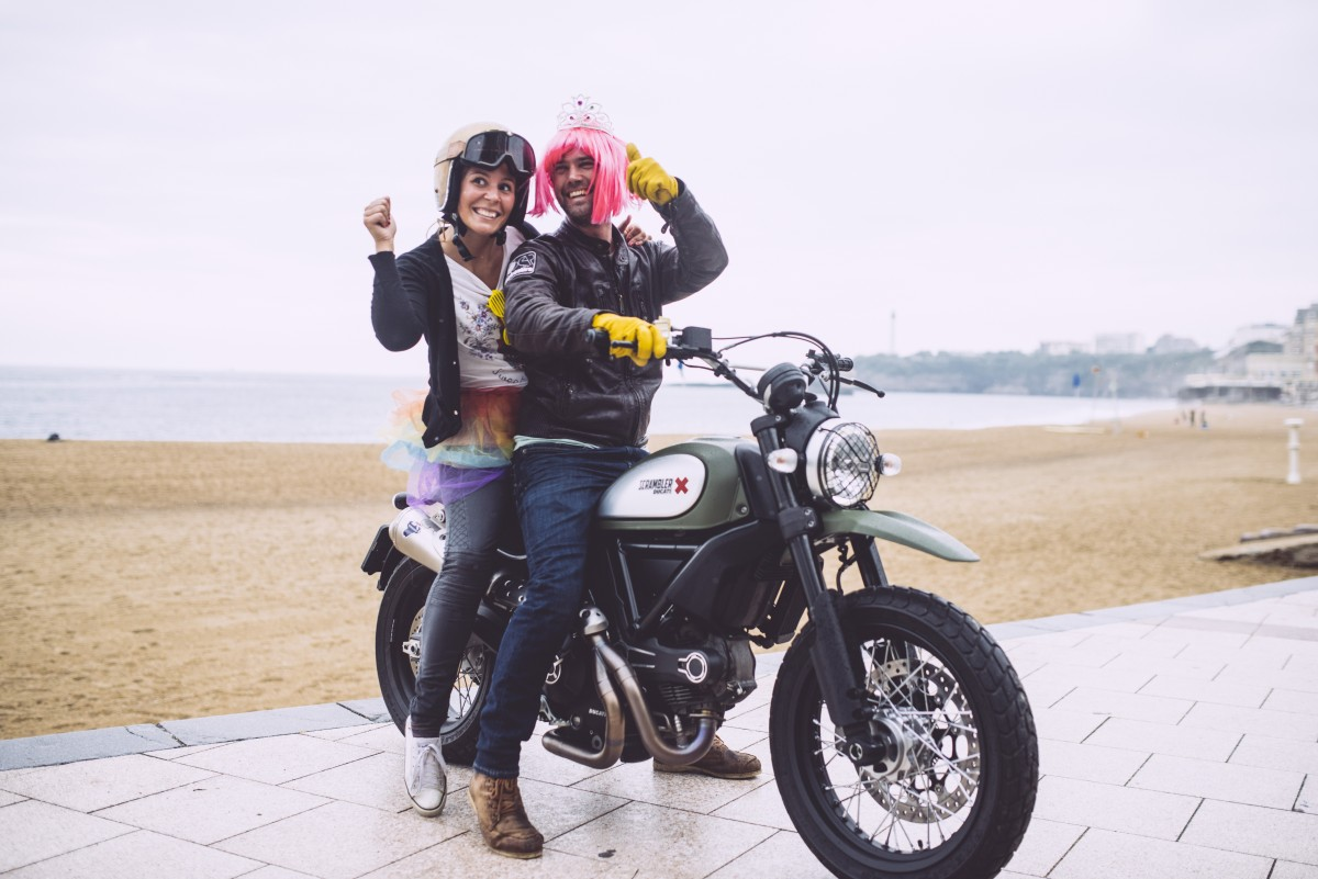 wheels and waves – urban enduro ducati scrambler